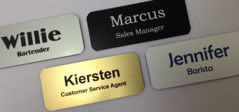How to build a powerful brand using name badges